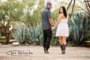 DeGrazia Studio Chapel Perfect For Engagement Photos And Vintage Mexican Wedding Theme