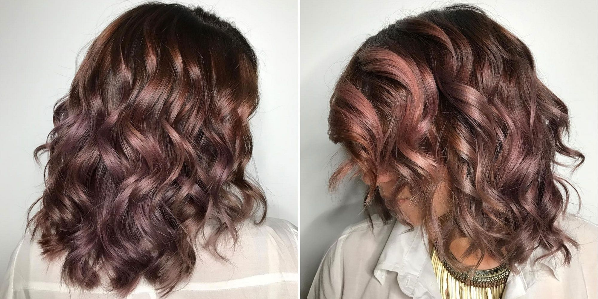 Chocolate mauve is fallus musthave hair color