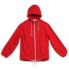 beach jacket - red