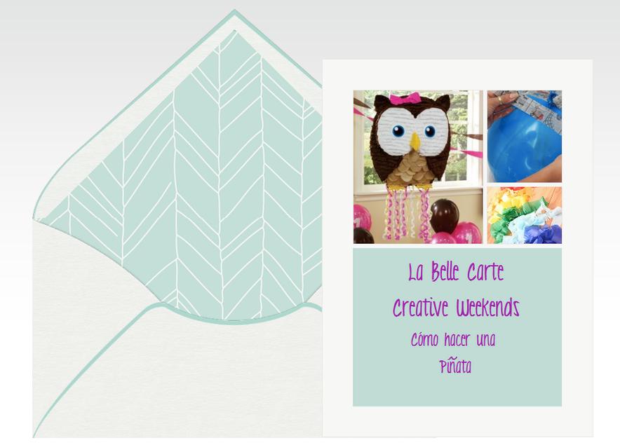 Invitaciones de cumplea os tarjetas de cumplea os - Pinatas para cumpleanos infantiles ...