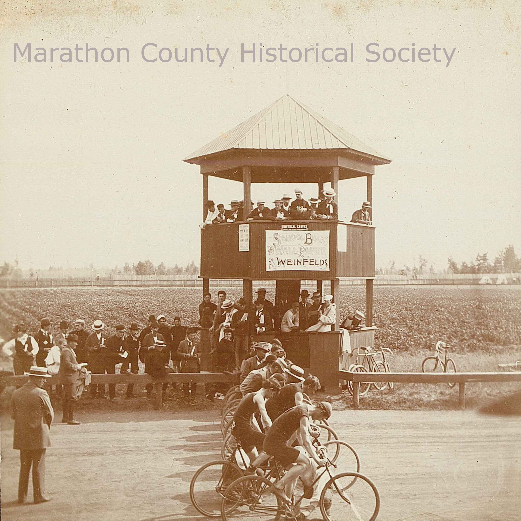 Cycling race circa 1920s-30s