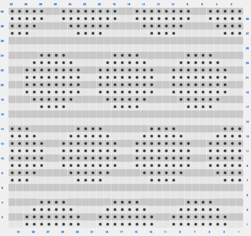 Tapestry crochet chart Circles by lebenslustiger.com | Spültücher ...