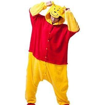 a82b5ee77bae Winne the Pooh Bear Onesie for Adults