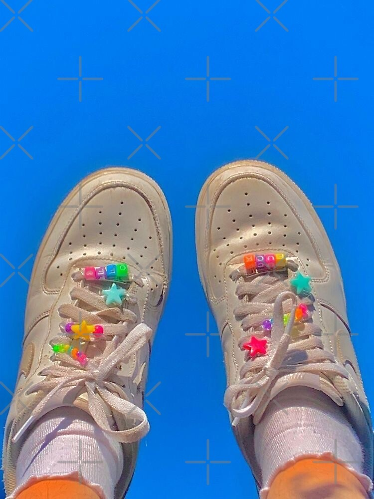 indie kid af1 aesthetic Sticker