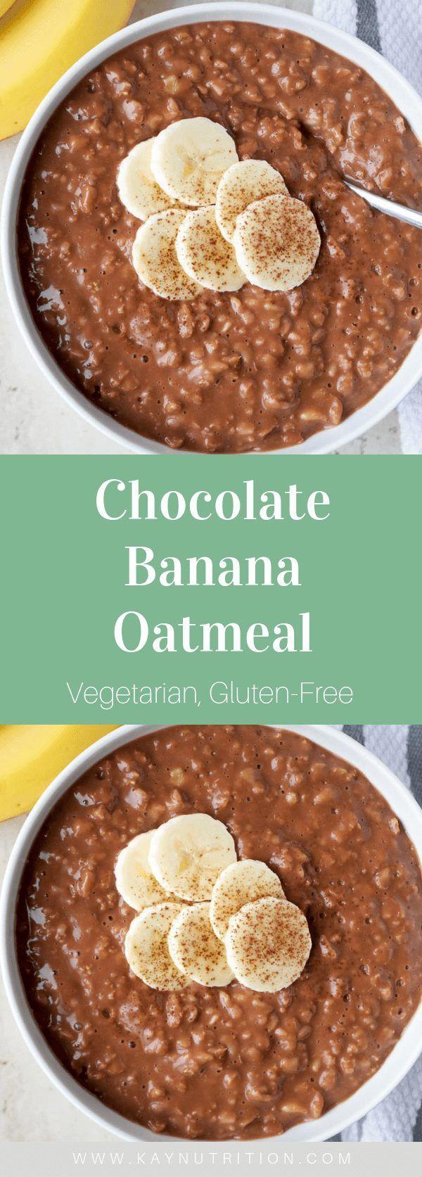 Chocolate Banana Oatmeal -  Chocolate Banana Oatmeal – Stephanie Kay   Nutritionist & Speaker  -