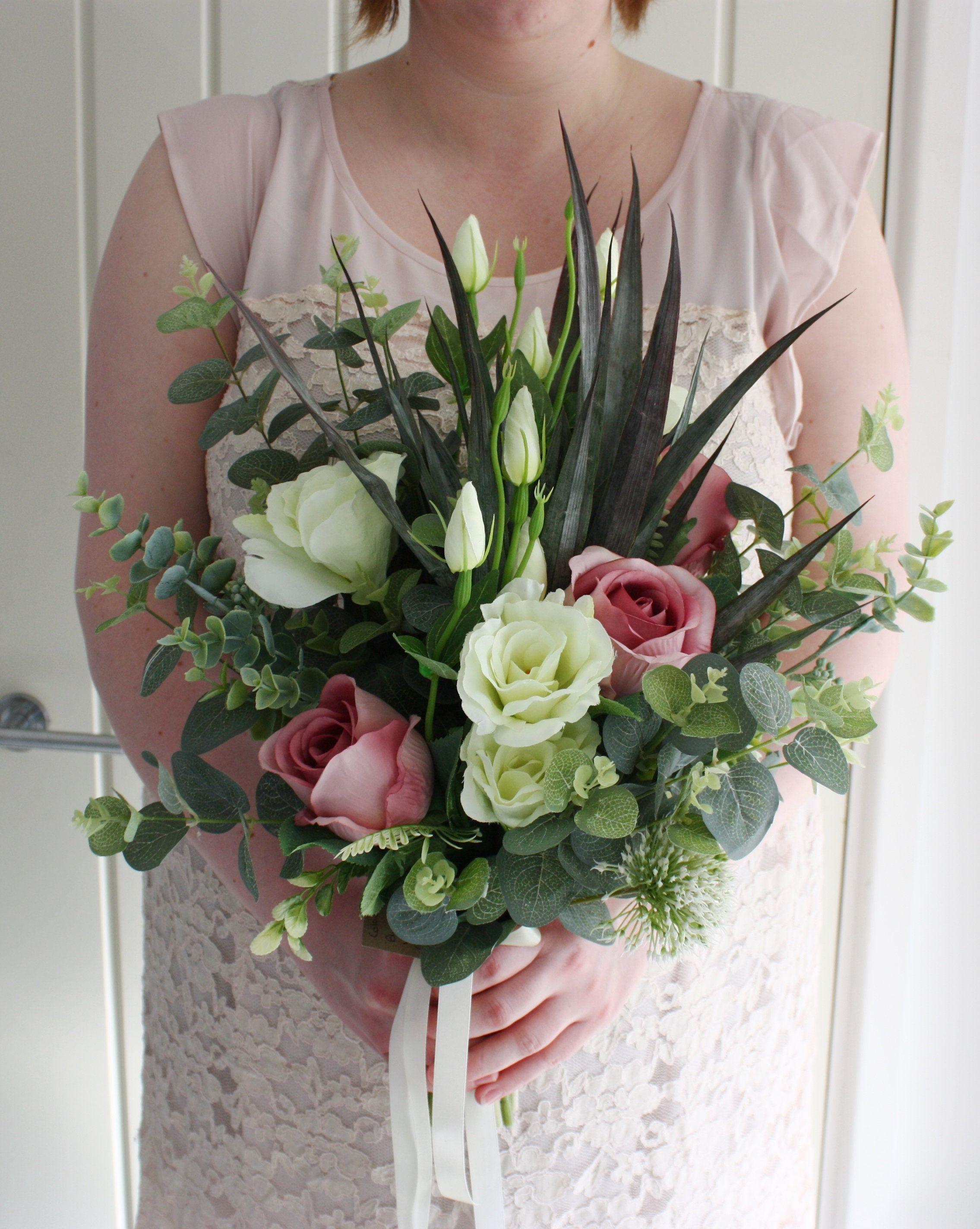 Wedding Flowers Bridal Bouquet Oakcottageflowers Vintage Wedding Oak Cottage Flowers Silk Flower Bouquet Vintage Bouquet