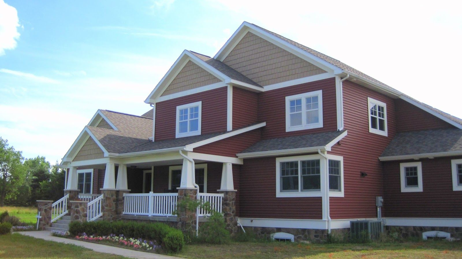 Houses With Winchester Brown Siding Now Feast Your Eyes