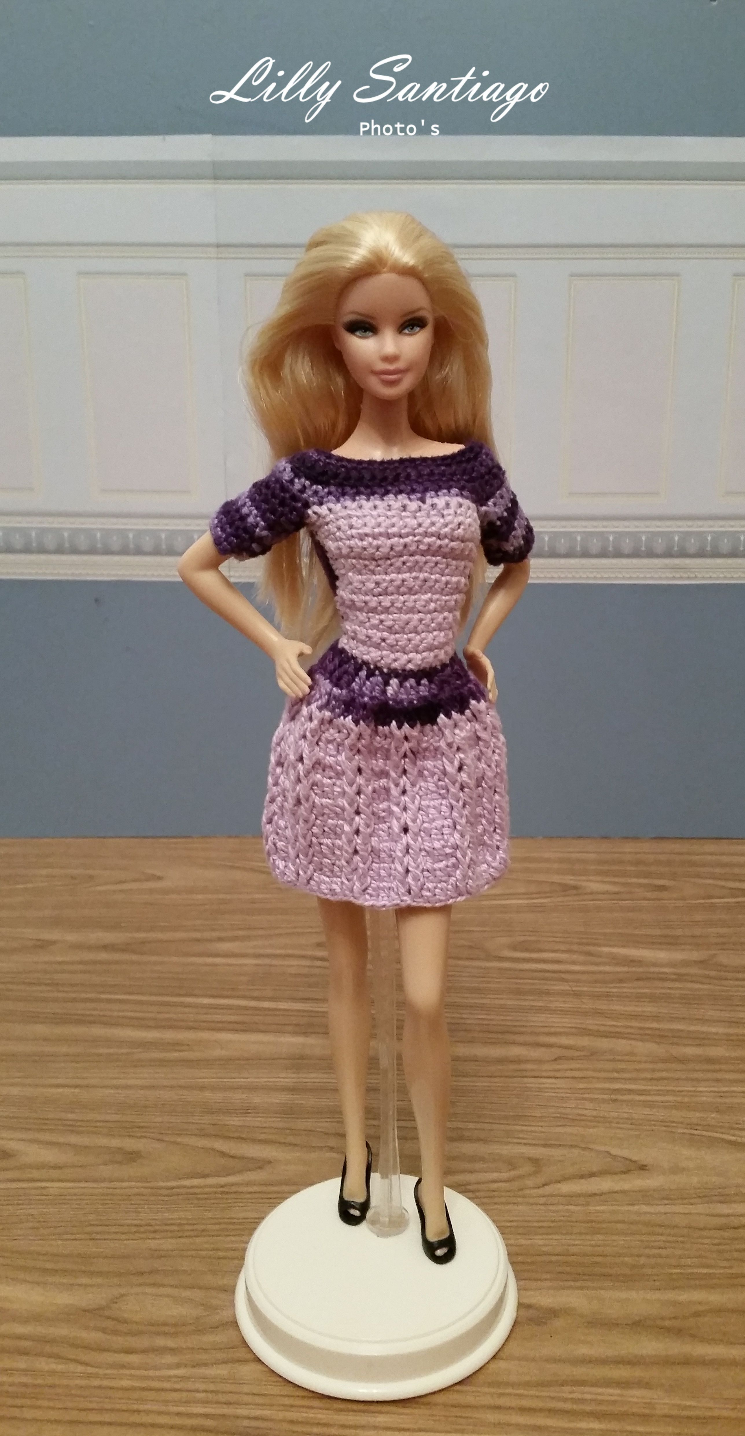 Crochet Dress By Lilly Santiago Barbie Jaretzi Pinterest