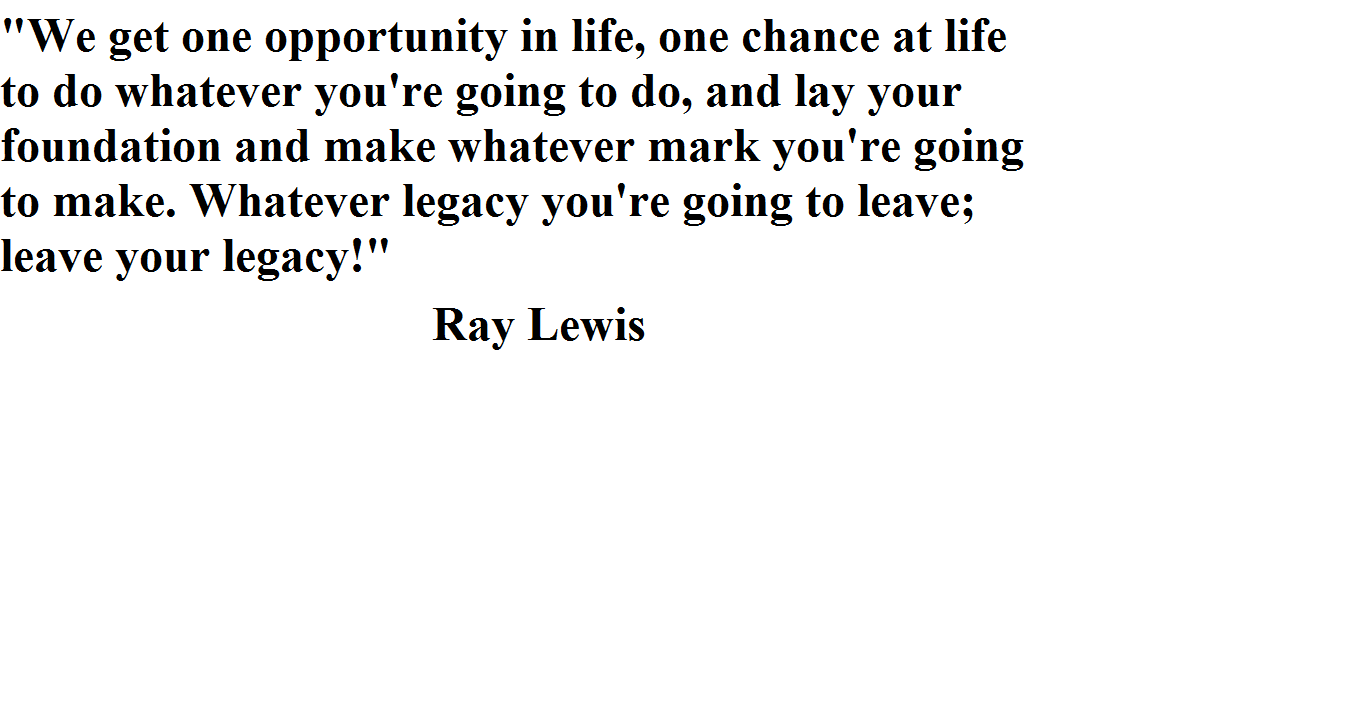13 Best Ray Lewis Quotes Images On Pinterest: Famous Quotes From Ray Lewis. QuotesGram