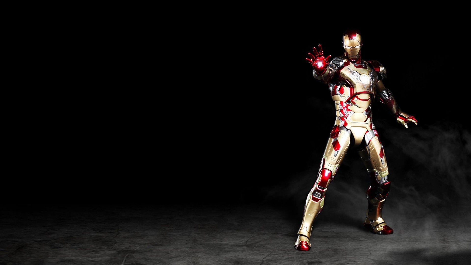 Iron Man 3 Mark 42 Heroe Man