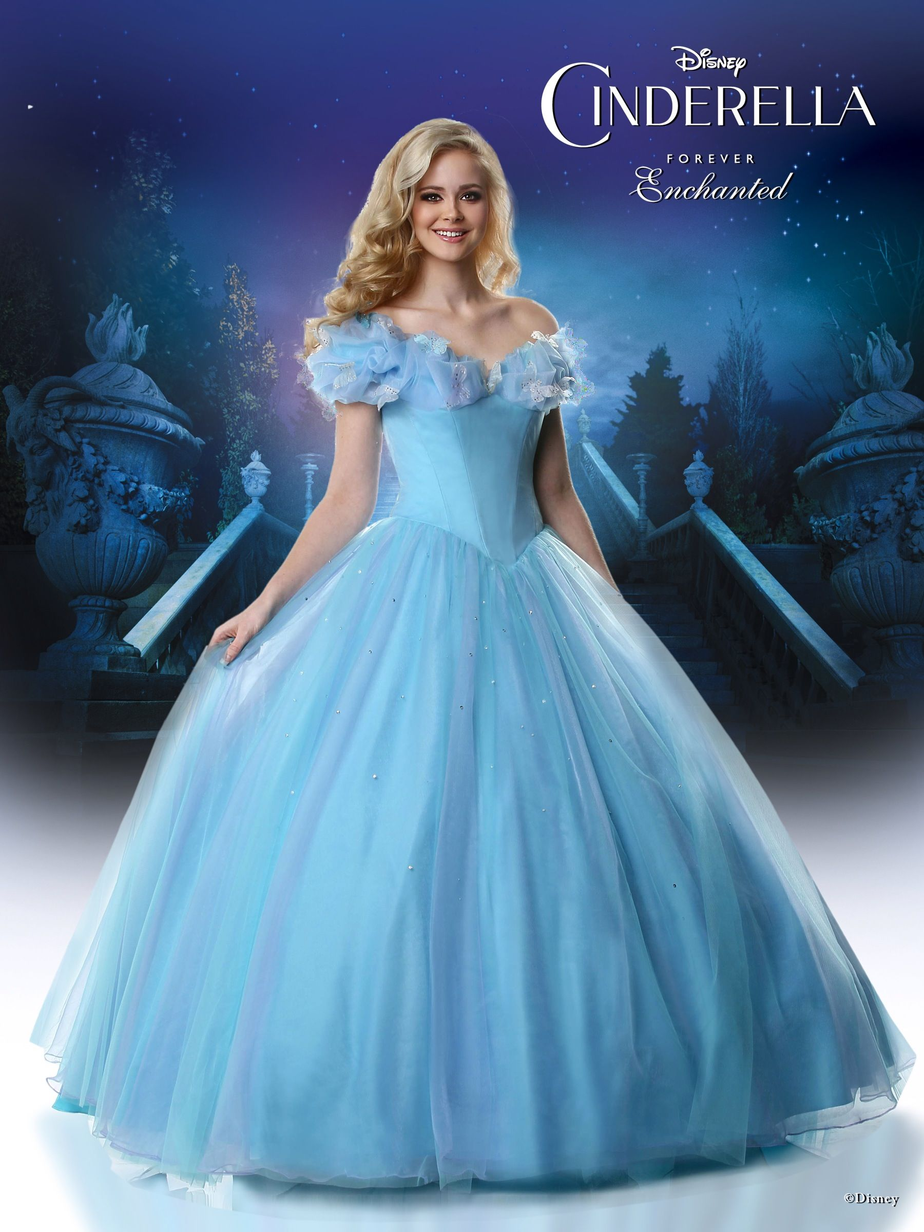 Dress up of cinderella - Disney Forever Enchanted Cinderella Prom Dress Collection By Ashdon For 2015