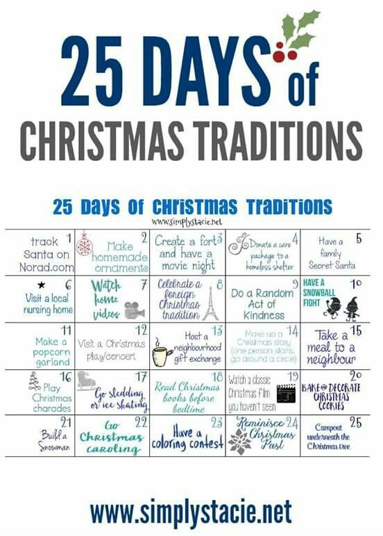 Countdown To 25 Days Of Christmas 2019.Christmas Traditions Fall Ideas In 2019 Christmas
