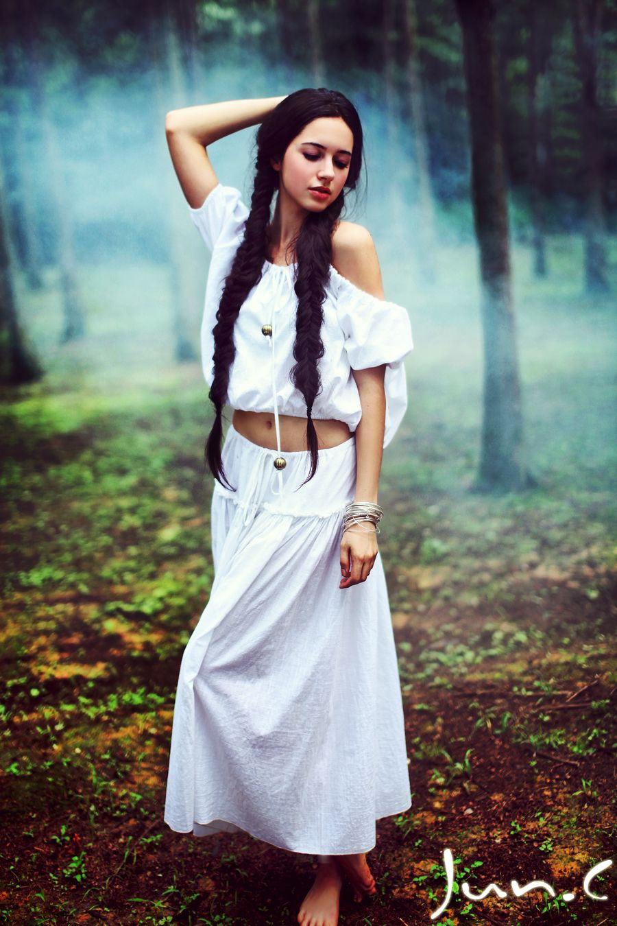 Thais by yychanson  髪の毛  Pinterest  Rapunzel Plaits and