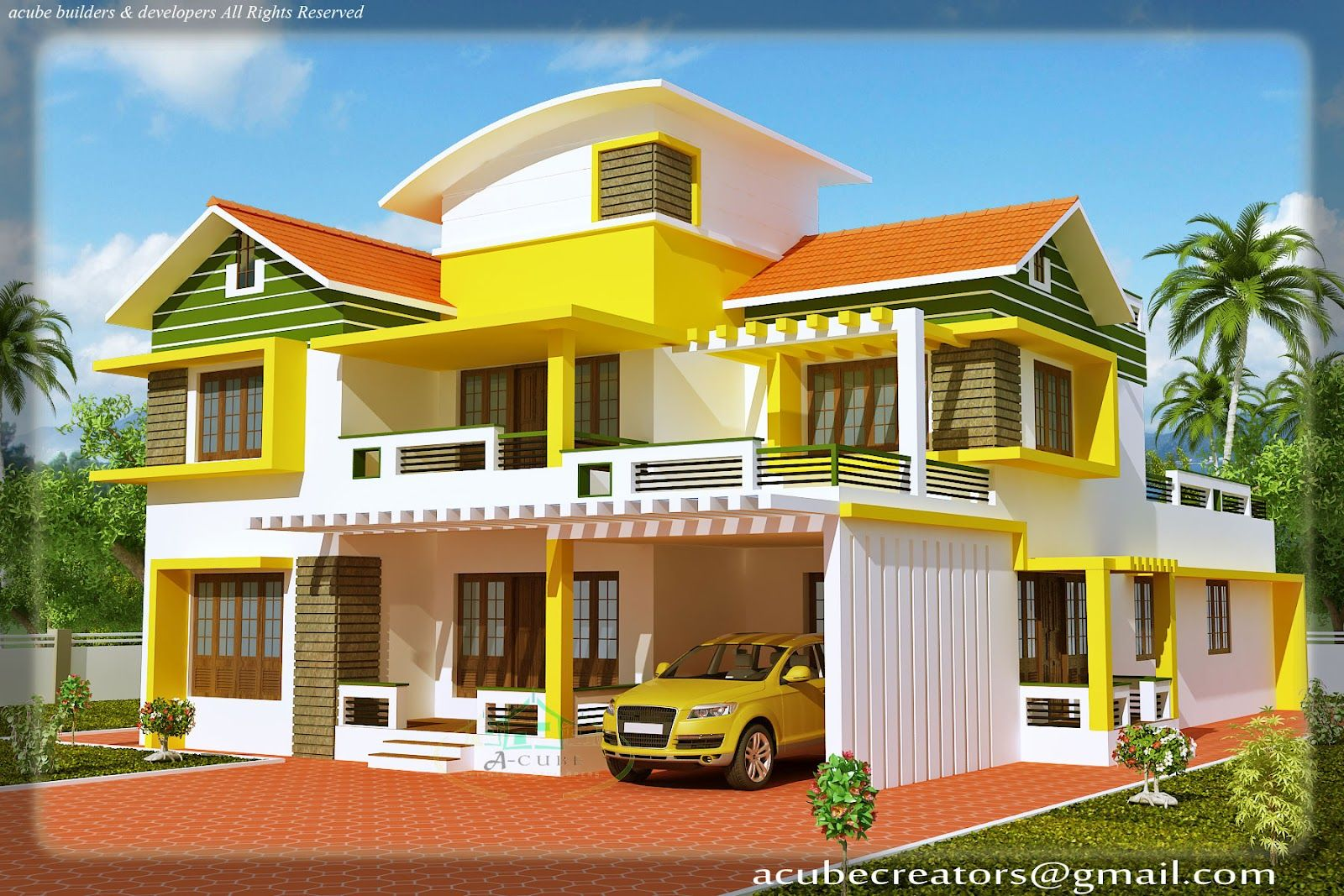 Kerala House Model Kerala House Model Duplex House Elevation At 2700 Sq
