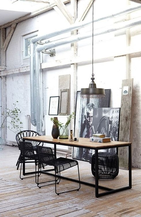 Looking For Interior Design Ideas For Your Living Room Decor Take A Look At This Industrial Living Room With An Industr Loft Living Interior Design Home Decor