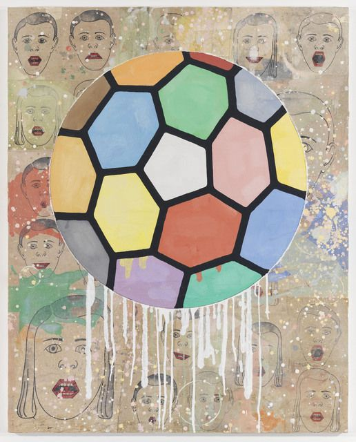 Donald Baechler | Colorful Ball (2010), Available for Sale | Artsy