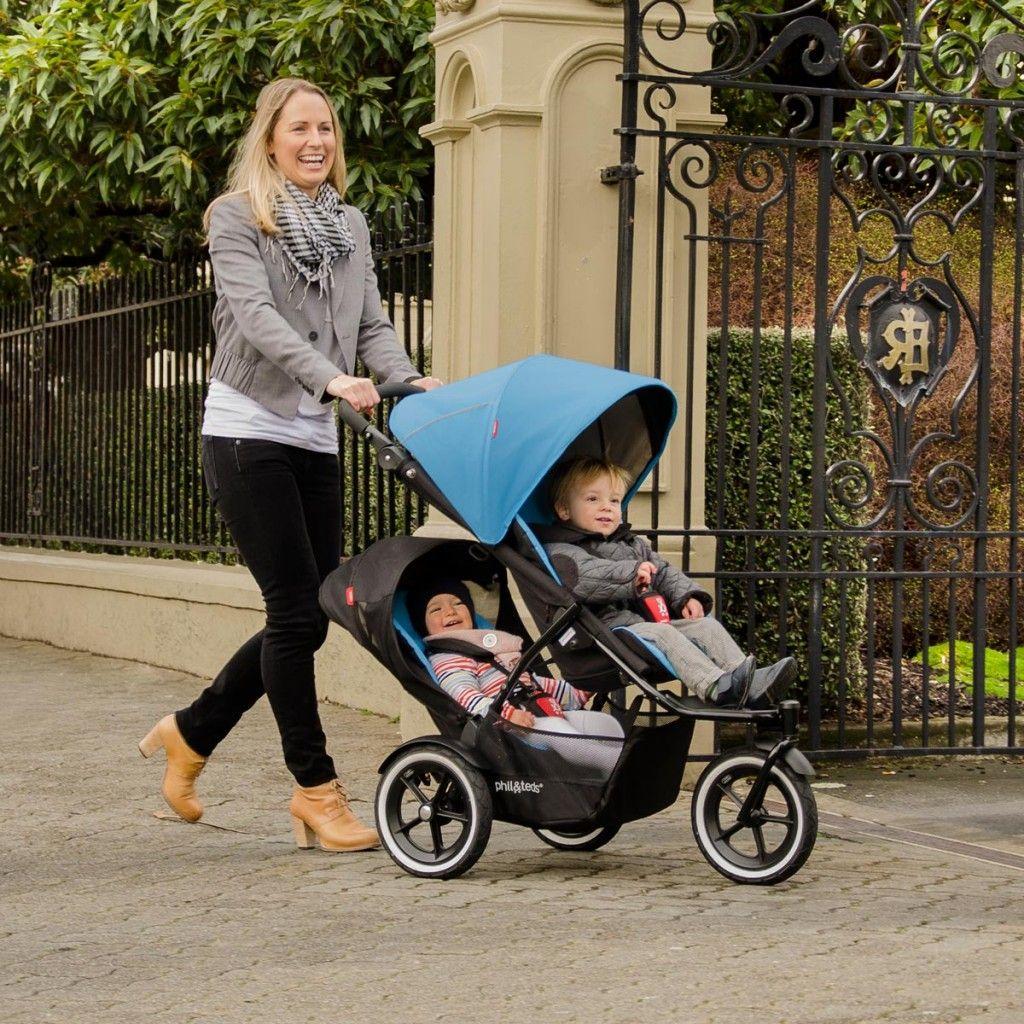 Joovy Too Qool Double Tandem Stroller Baby Strollers