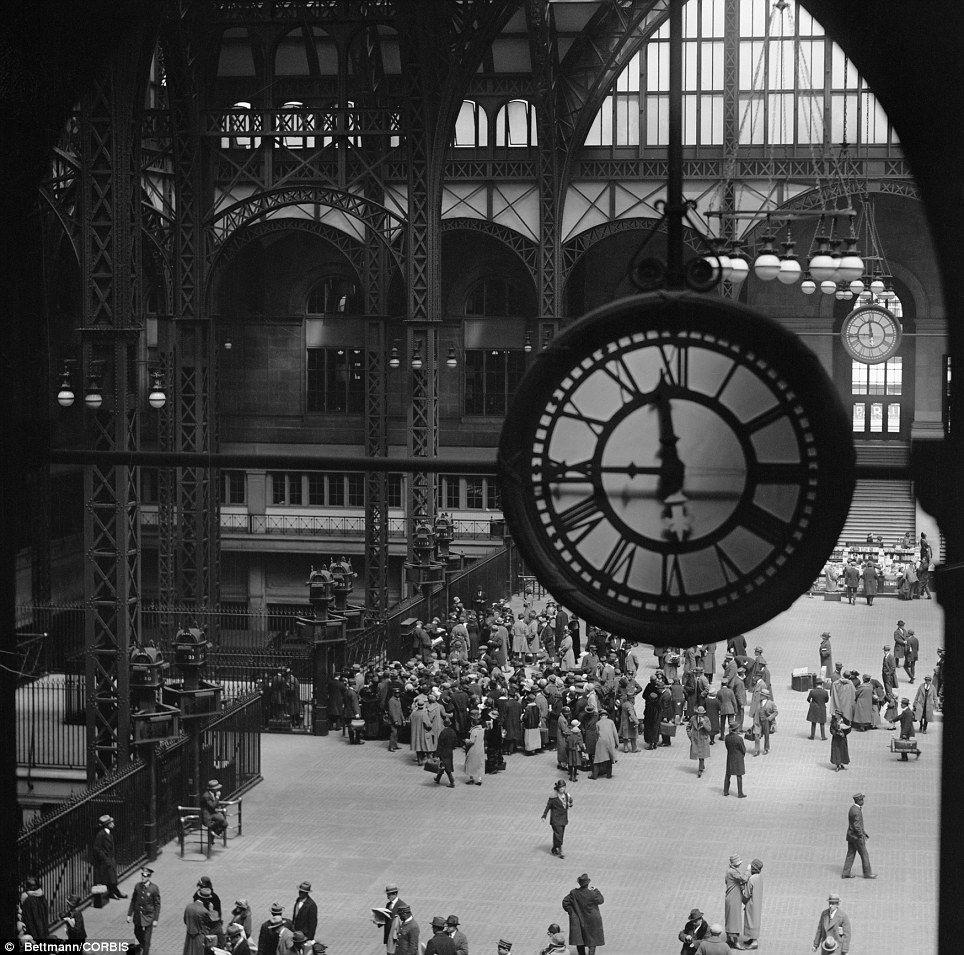 Pennsylvania Railroad Station Clock