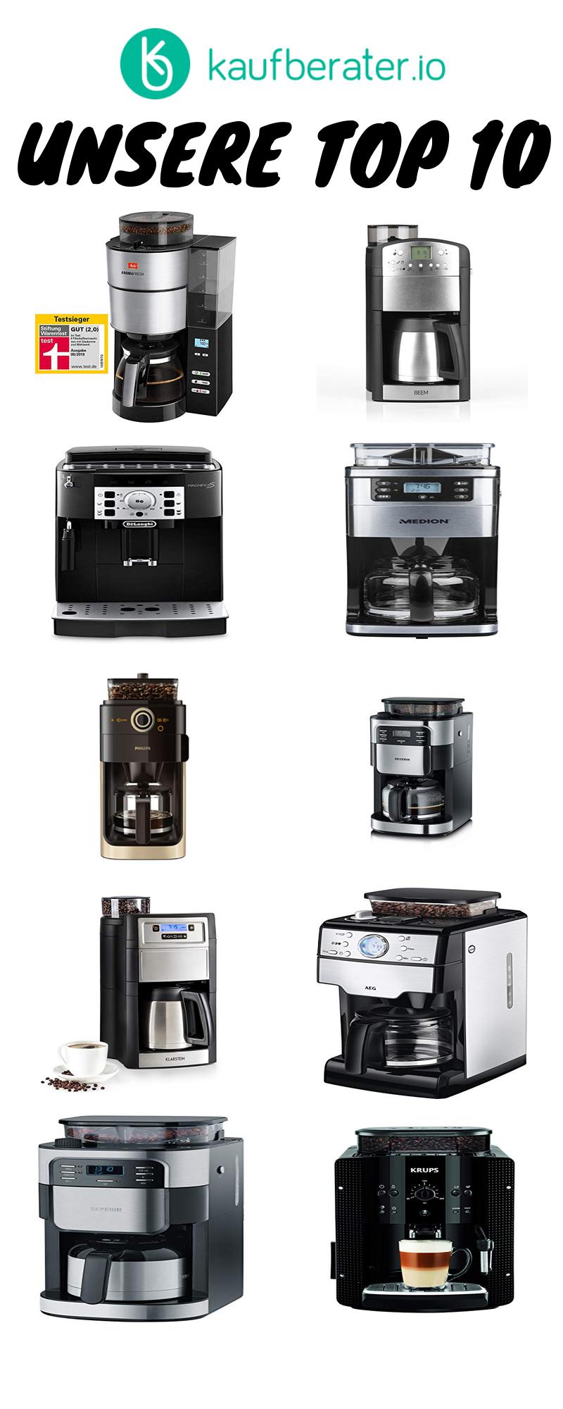 Kaffeemaschine Mit Mahlwerk Infos Ratgeber Test Kaffeemaschine Kaffeesorten Kaffee