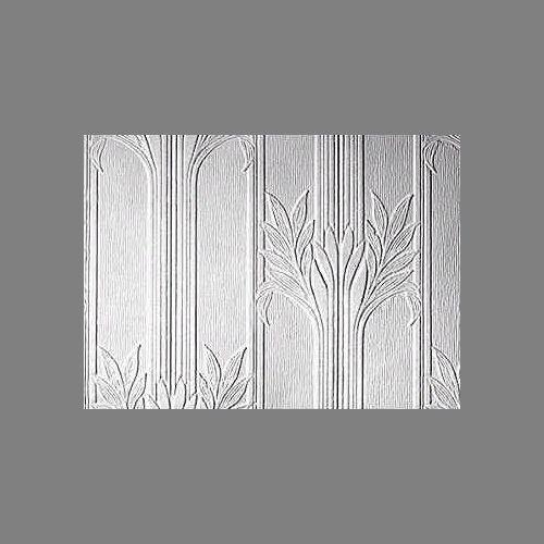 Anaglypta Premium Textured Vinyl Wildacre floral paintable wallpaper: RDD803 | Embossed Anaglypta Paintable wall covering wallpaper