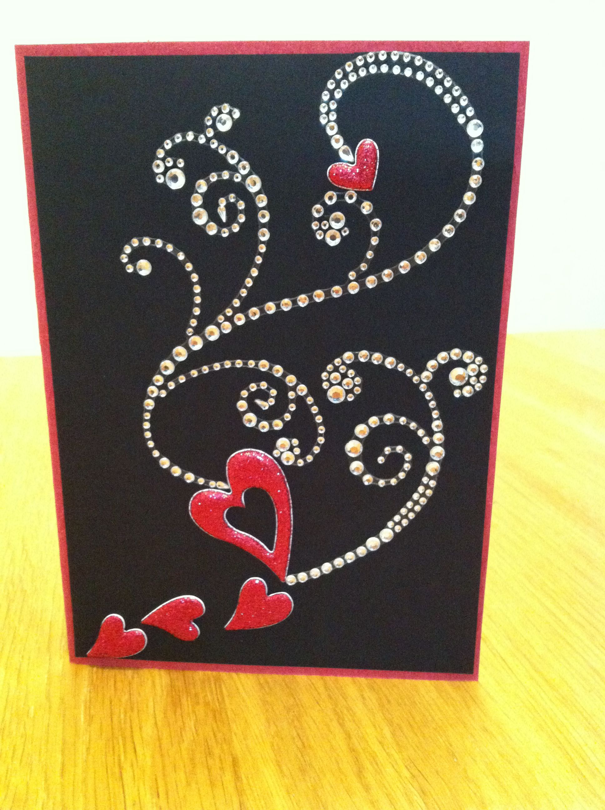 ruby anniversary card  valentines cards anniversary