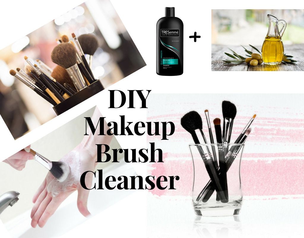 Easy Way To Clean Makeup Brushes How To Clean Makeup Brushes Diy Makeup Brush Brush Cleanser