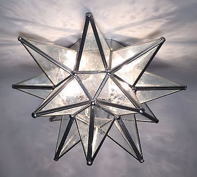 Moravian Star Ceiling Light Wall Sconce