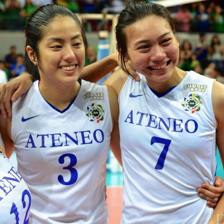 Gretchen Ho And A Nacachi Ateneo Lady Eagles Beautiful Player Filipino Girl Volleyball Players