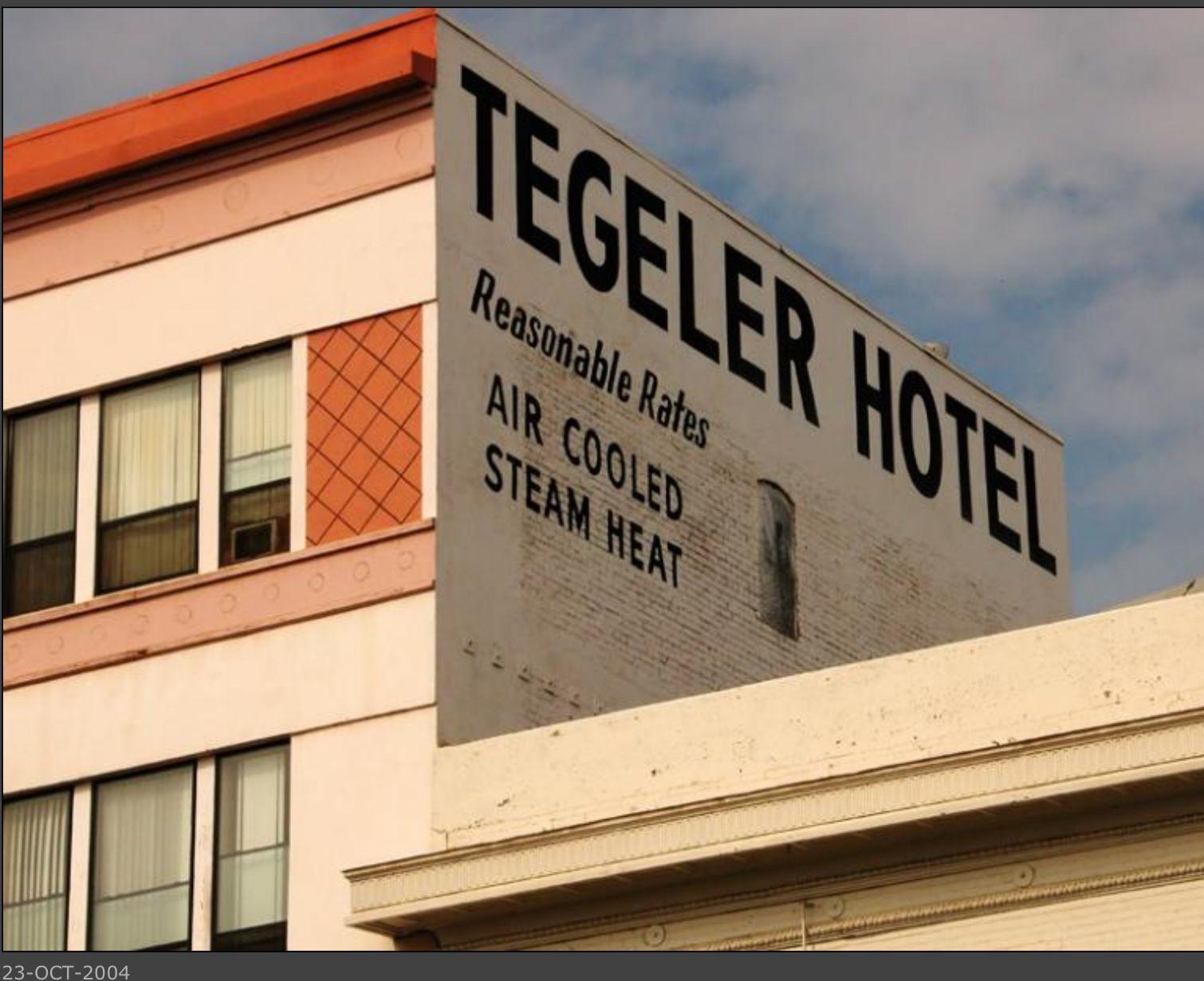 The Old Tegeler Hotel Built In 1914 At 1908 H Street Bakersfield Ca Bakersfield California Bakersfield California