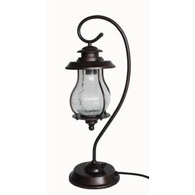 Allen Oil Rubbed Bronze Outdoor Table Lamp With Shade Shade