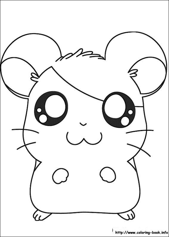 Hamtaro Coloring Picture Desenhos Kawaii Kawaii Desenhos Fofos