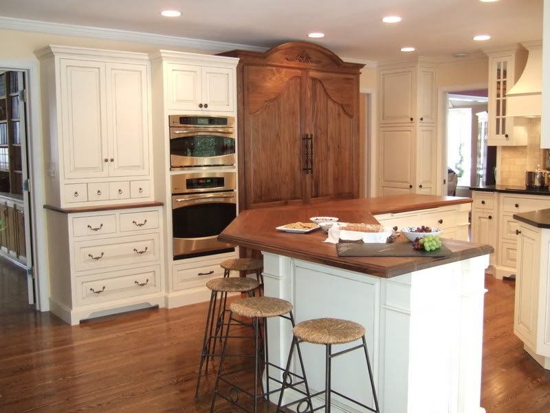 Merveilleux Kitchen Wall Colors With Brown Cabinets | Can Anyone Show Me Creamy Or  Ivory Cabinets With Glaze?   Kitchens .