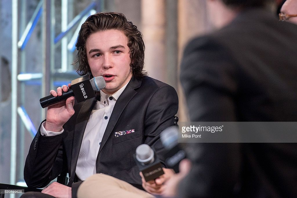 Actor Mark McKenna attends the AOL Build Speaker Series to discuss 'Sing Street' at AOL Studios In New York on April 12, 2016 in New York City.