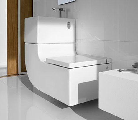 Roca Toilet Integrates Sink Grey Water Cistern Ev Dekorasyonu Dekorasyon Evler