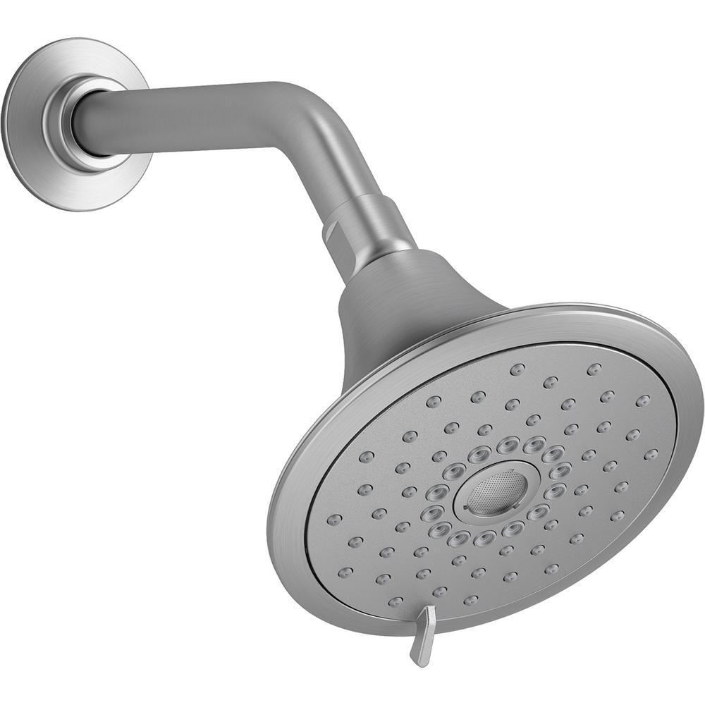 Kohler Forte 3 Spray 5 5 In Single Wall Mount Fixed Shower Head