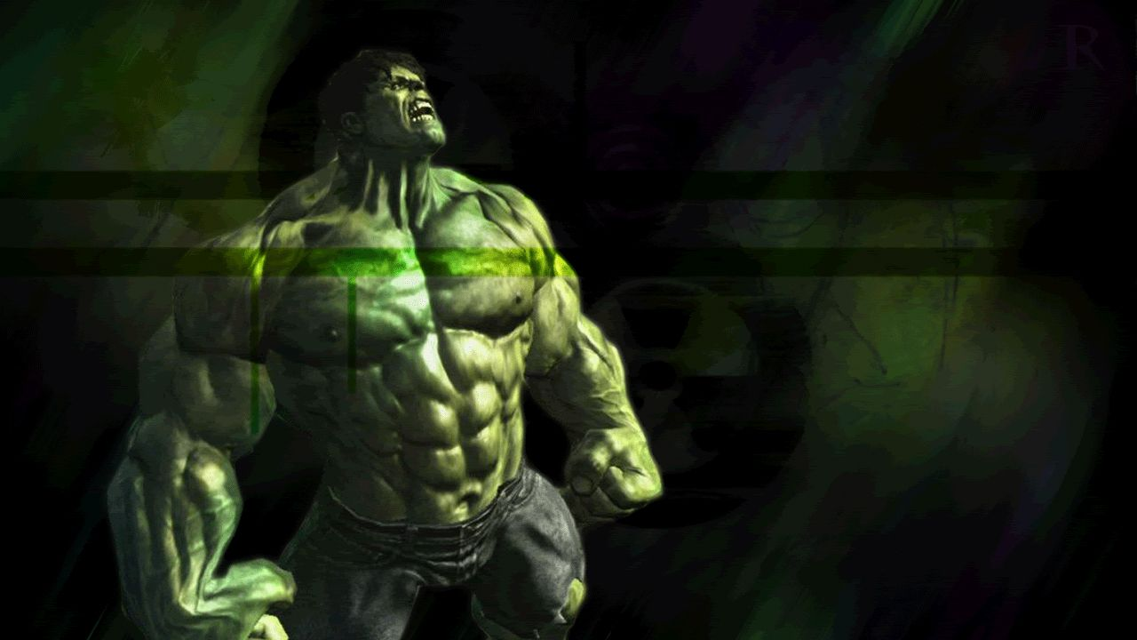 So This Is An Incredible Hulk Wallpaper That I Made Back In Like 2008 Or When Was Learning How To Make These Things The