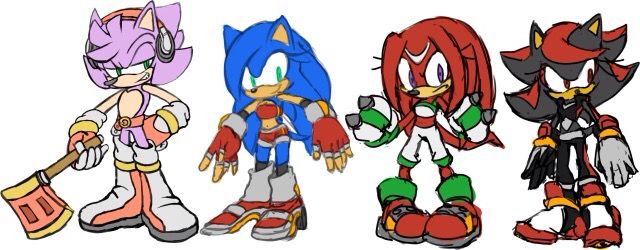 Genderbent Sonic Characters Sonic Funny Hedgehog Art Sonic And Shadow