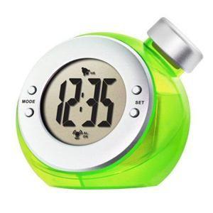 Water-powered alarm clock. Hmm..