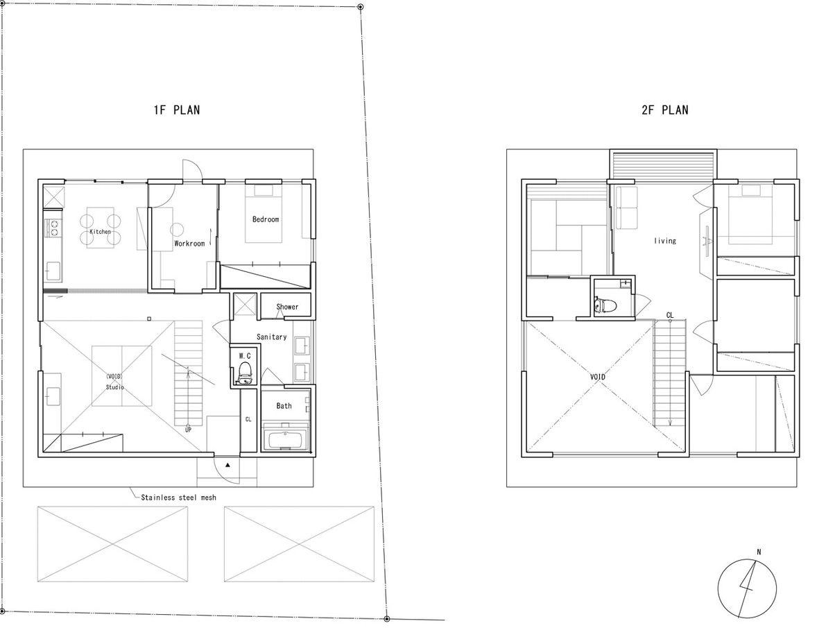 Grundriss Japanisches Haus verschleierte transparenz wohnhaus fumihiko sano haus