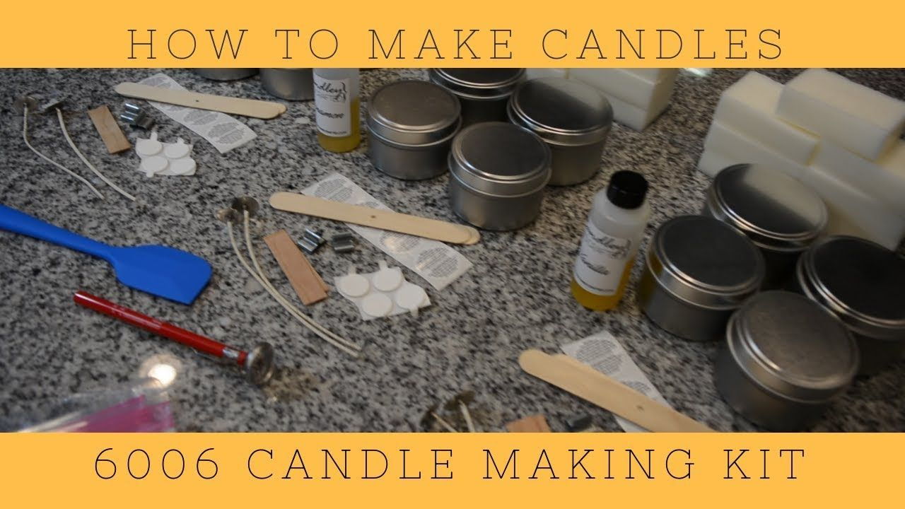 How to make candles with the 6006 candle making kit. Step