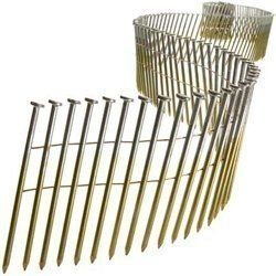 Senco El23aabh 0915 Gauge By 2 1 4 Inch Length Electro Galvanized Nail 3 600 Per Box By Senco 55 46 From The Manufacturer 0915 Gauge Flat