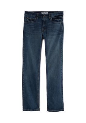 True Craft Straight Sundown Jeans. The Sundown jeans from TRUE CRAFT are cut with a straight leg for a comfortable, classic fit.
