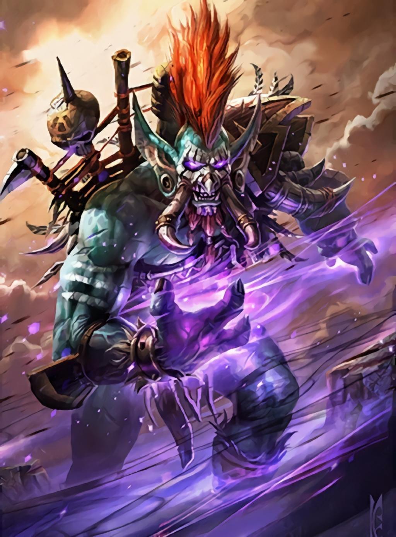 Voljin World Of Warcraft In 2019 Warcraft Art World Of