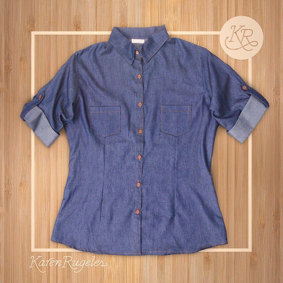 Denim Shirt by Karen Rugeles