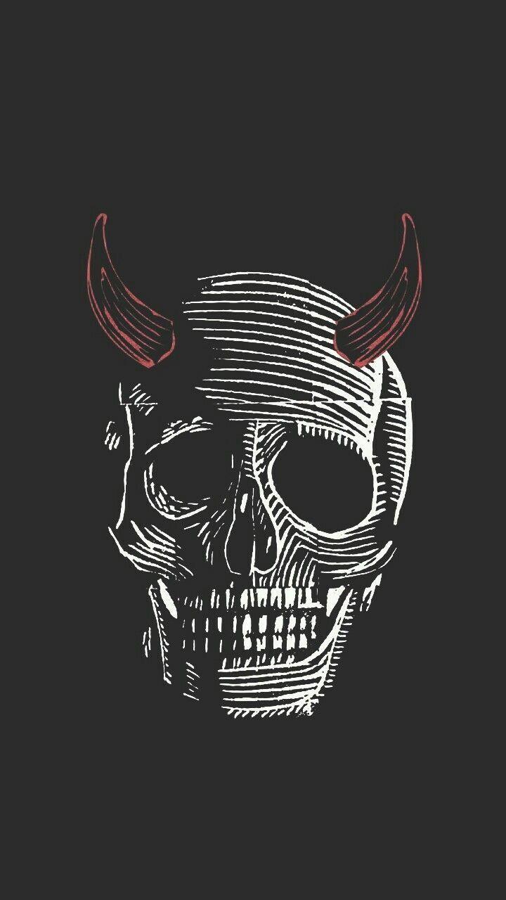 Skull の画像 投稿者 Hiroshi Shimizu さん クロスハッチング