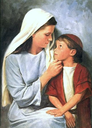 ♥¸.•*´)¸.•*´´*•.¸(*•.¸♥¸.•*´) | Child jesus, Mary and jesus, Jesus