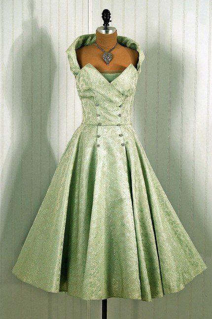 ~Fred Perlberg Dance Dress, 1950s~
