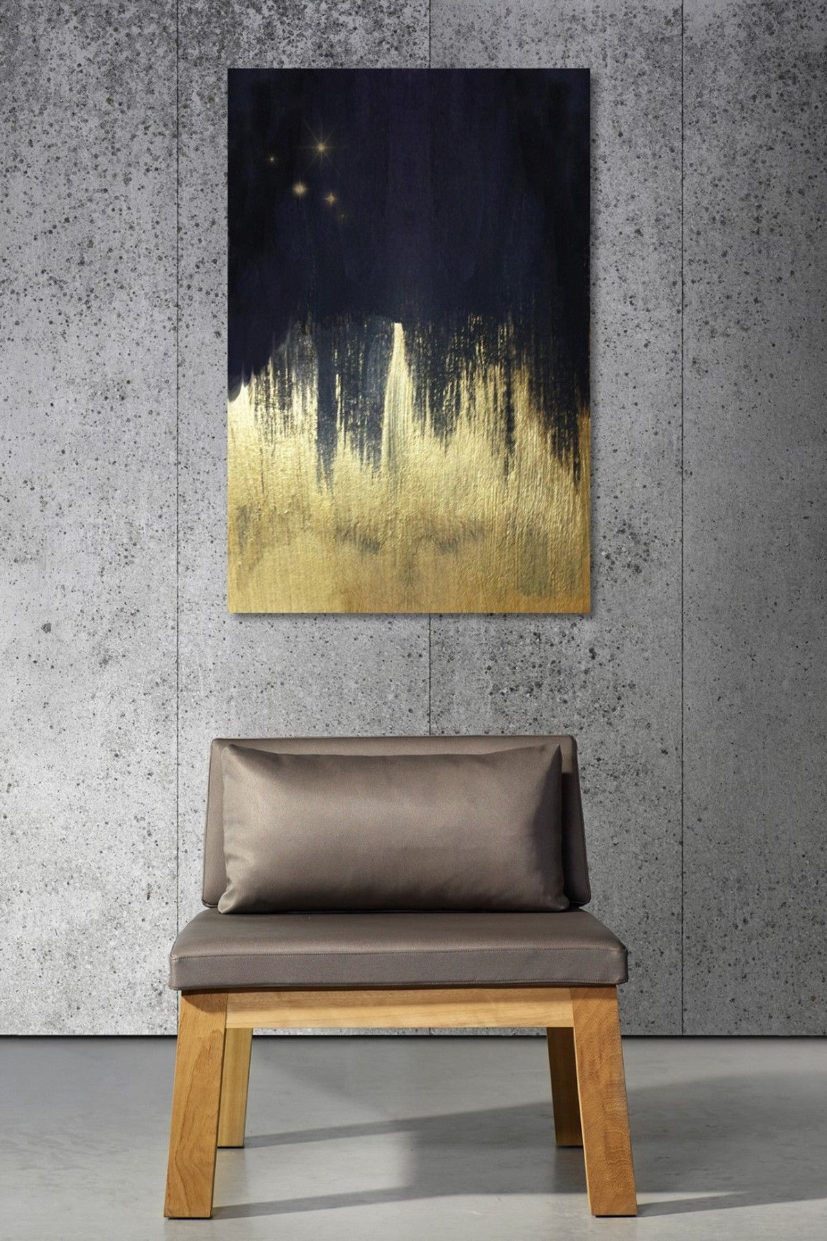Black and Gold Canvas Wall Art