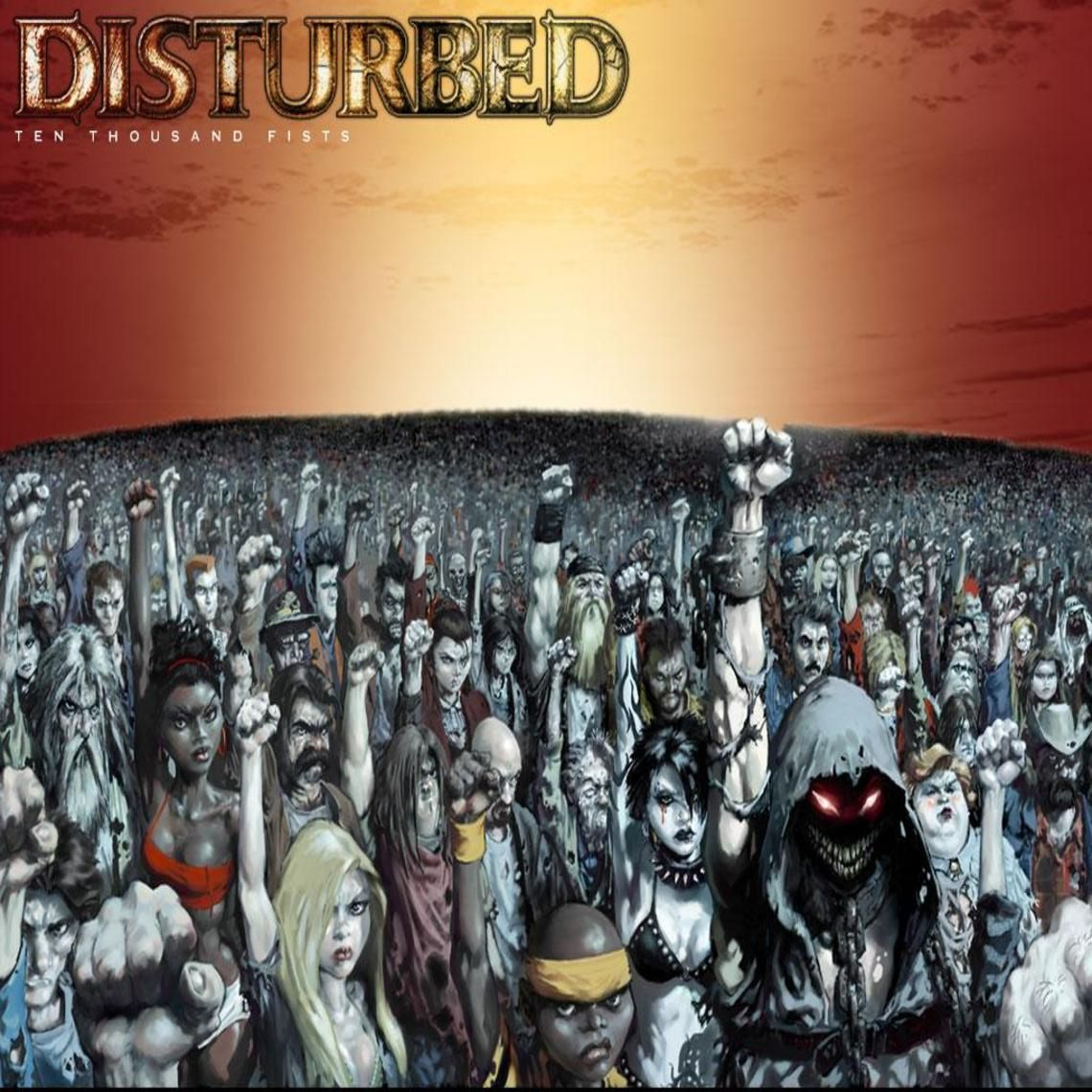 Ten Thousand Fist Disturbed - Nude