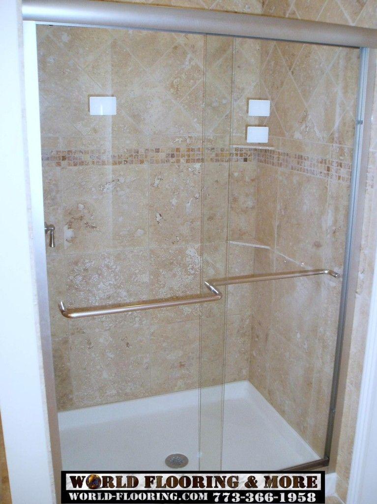 Custom Cultured Marble Shower Bathroom Remodeling World Flooring